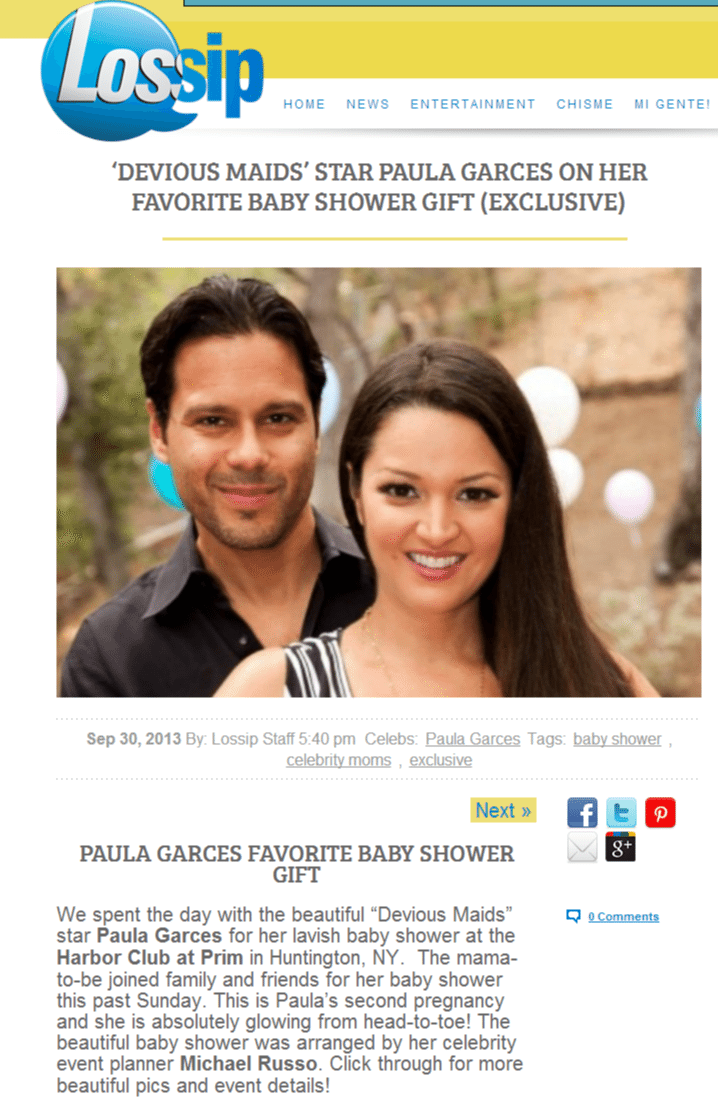 'Devious Maids' Star Paula Garces On Her Favorite Baby Shower Gift