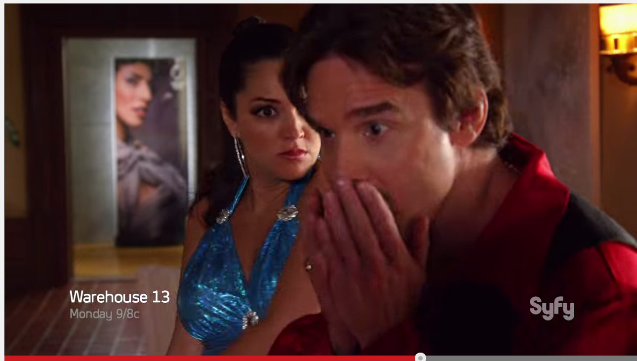 Watch as @paulagarces1 takes @warehouse13 to where they never went before !